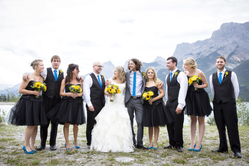 wedding party - Wedding Spa Services - Rapunzel Salon & Spa - Canmore