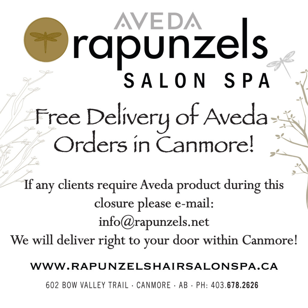 Aveda Delivery in Canmore!
