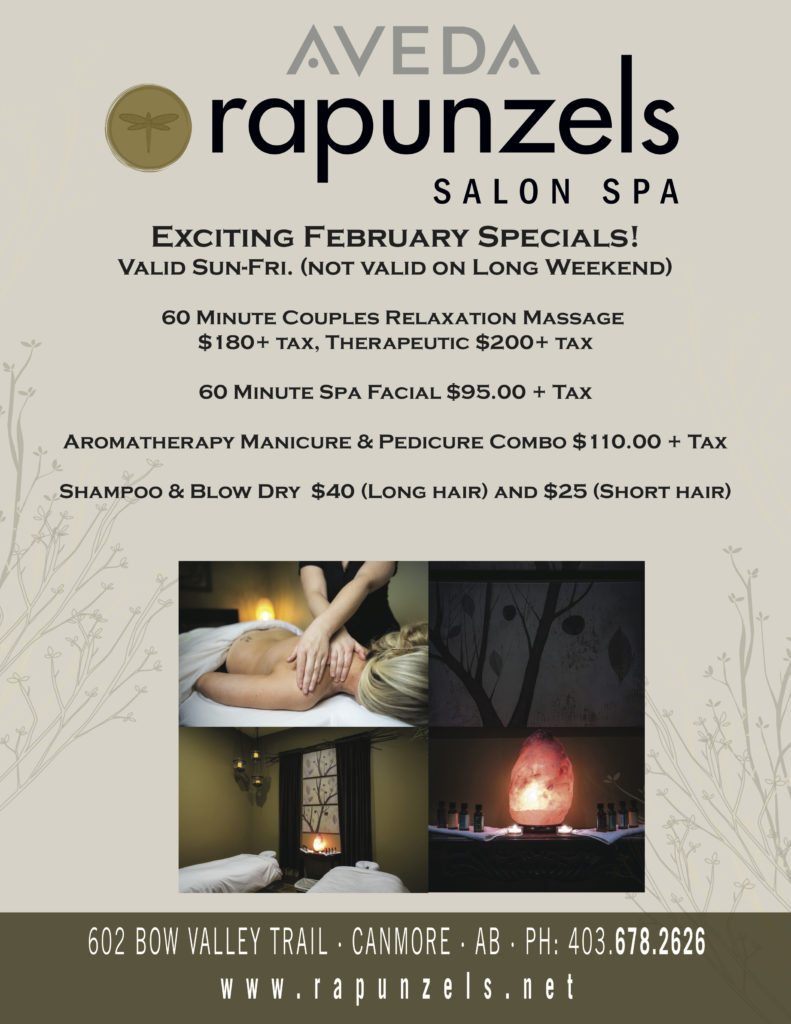Rapunzels Aveda Salon Spa Canmore Ab