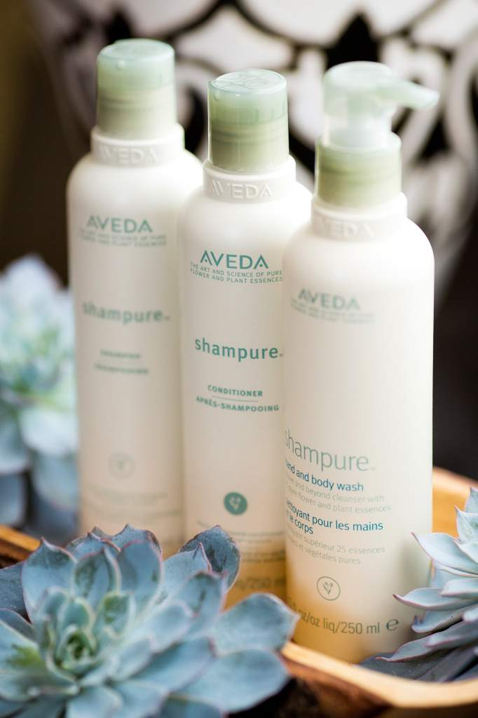 Aveda Shampure avaliable - Rapunzels Salon and Spa - Canmore