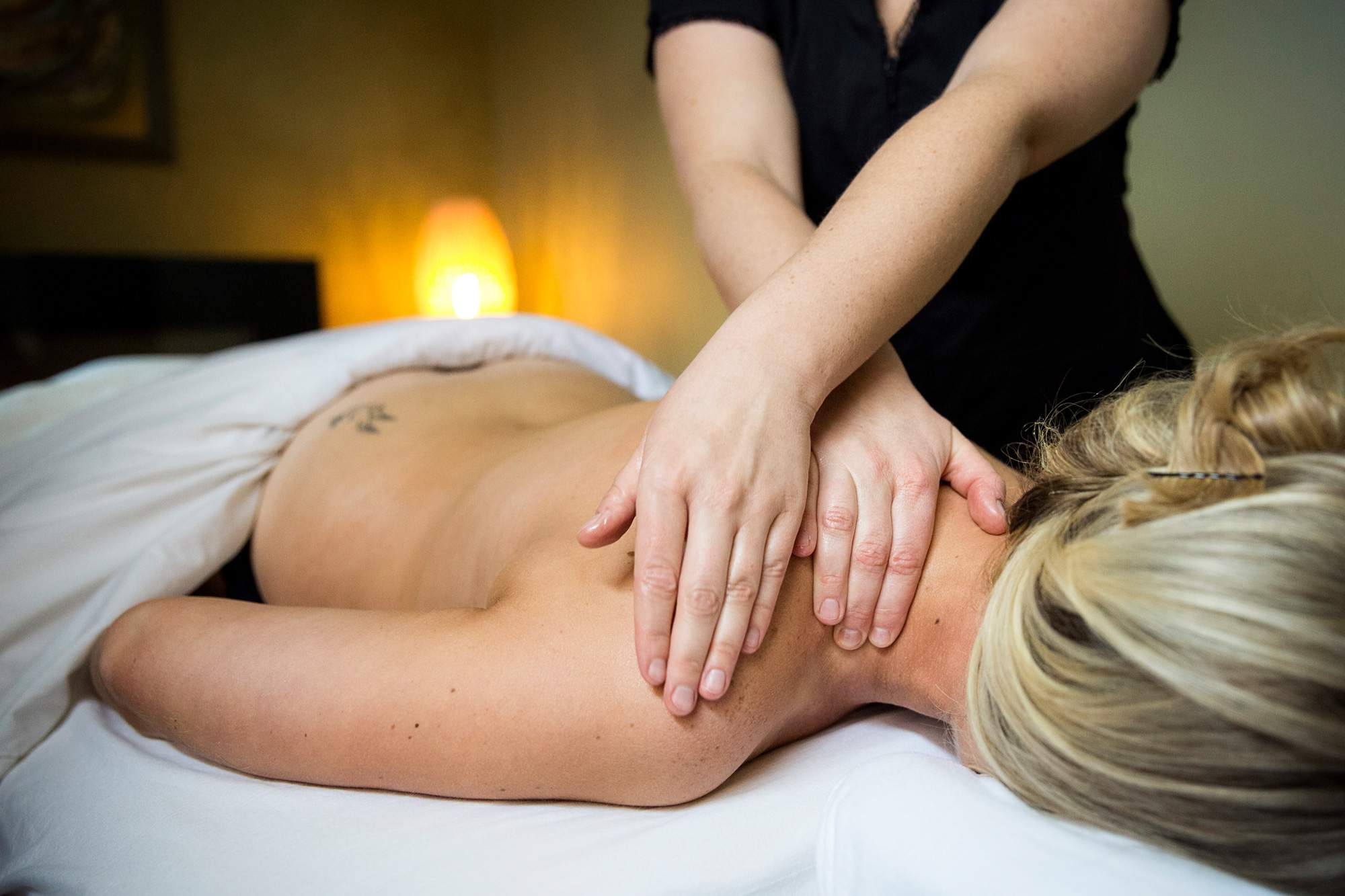 Deep Tissue Massage Therapy - Rapunzels Salon and Spa - Canmore