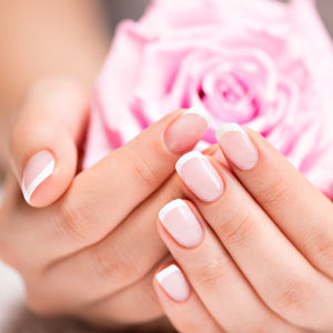 French Manicure Add on | Spa Services at Rapunzel's Salon and Spa | Camrose