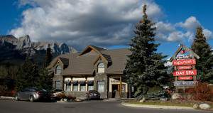 Our Location - 602 Bow Valley Trail - Rapunzel Salon & Spa - Canmore