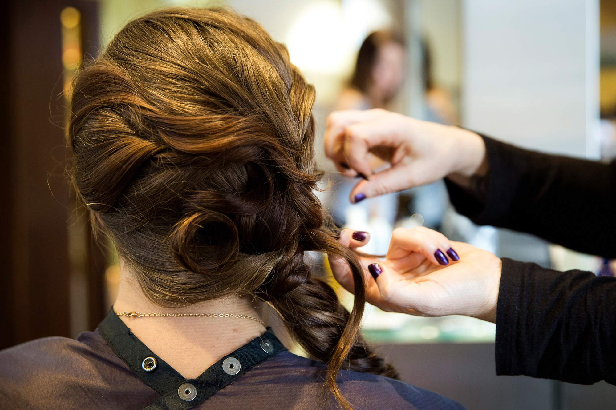 Hair Styling for any occasion - Salon Services - Rapunzels Salon and Spa - Canmore