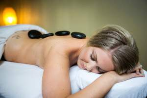 Hot Stone Massage at Rapunzels Spa in Canmore