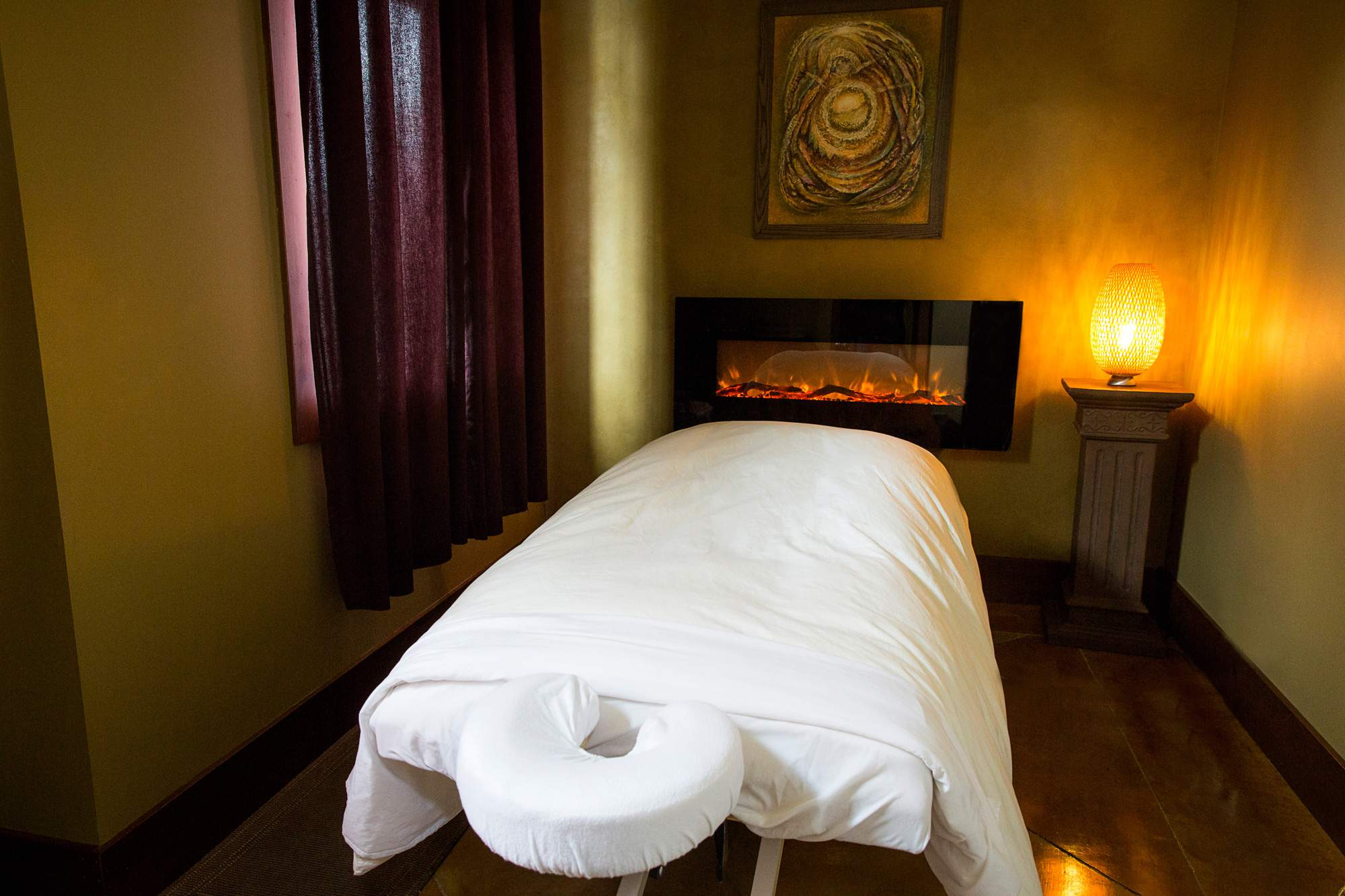 Luxurious and comfortable massage rooms - Rapunzels Salon and Spa - Canmore