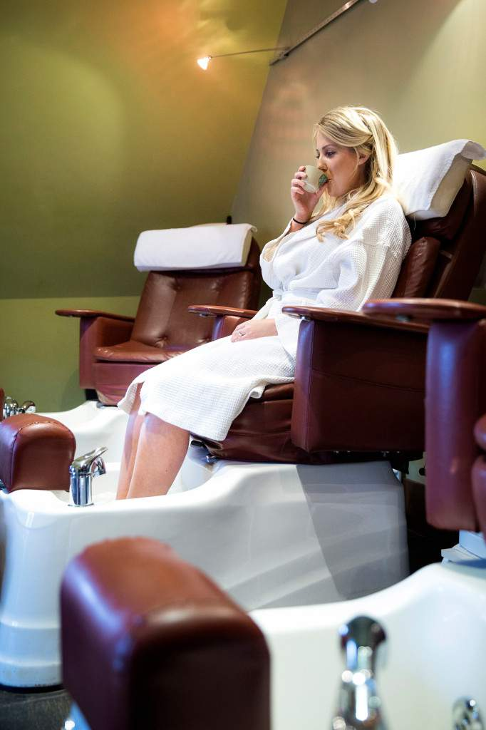 Comfortable Pedicures Chairs - Rapunzels Salon and Spa - Canmore