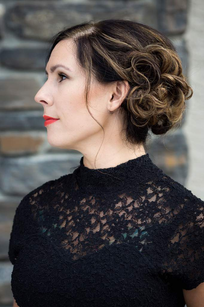 Updo Hairstyle - Salon Services - Rapunzels Salon and Spa - Canmore