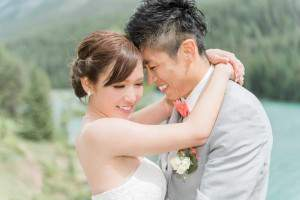Bridal Eyelash Extensions in Canmore with Chiaki Nagamatsu